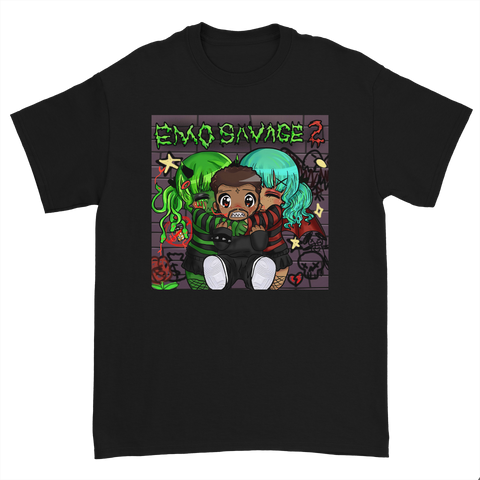 Emo Savage 2 T-Shirt - Official Album Art