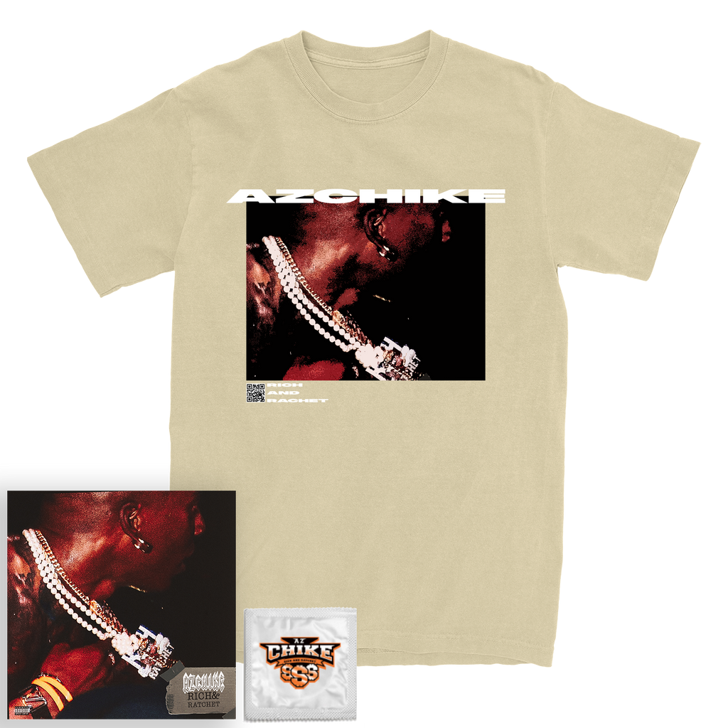 Rich & Ratchet Code Tee + Digital Mixtape Bundle
