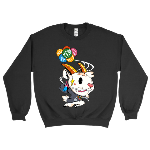 Reel Goats x No More Parties Crewneck Sweatshirt