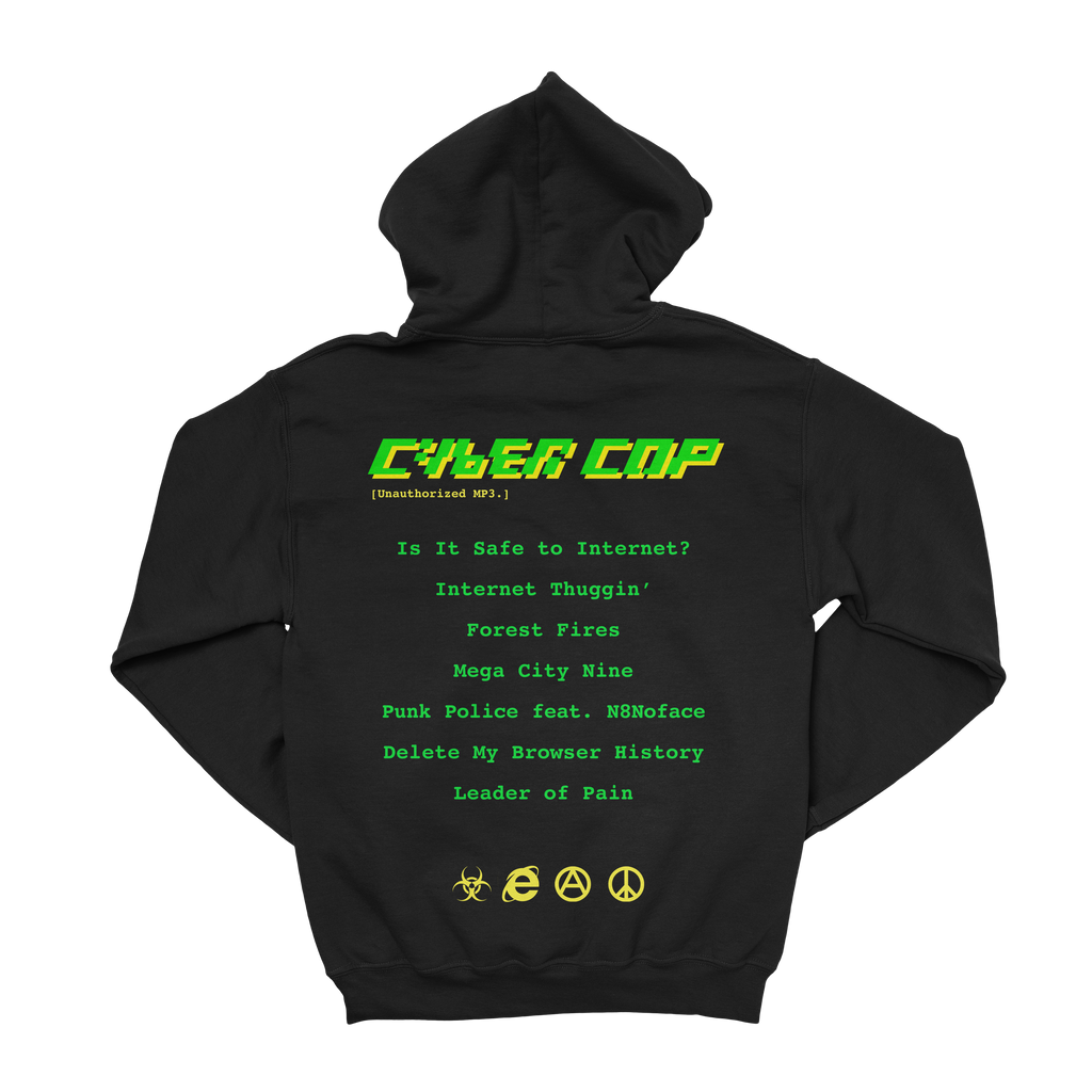 Cyber Cop Pull Over Hoodie
