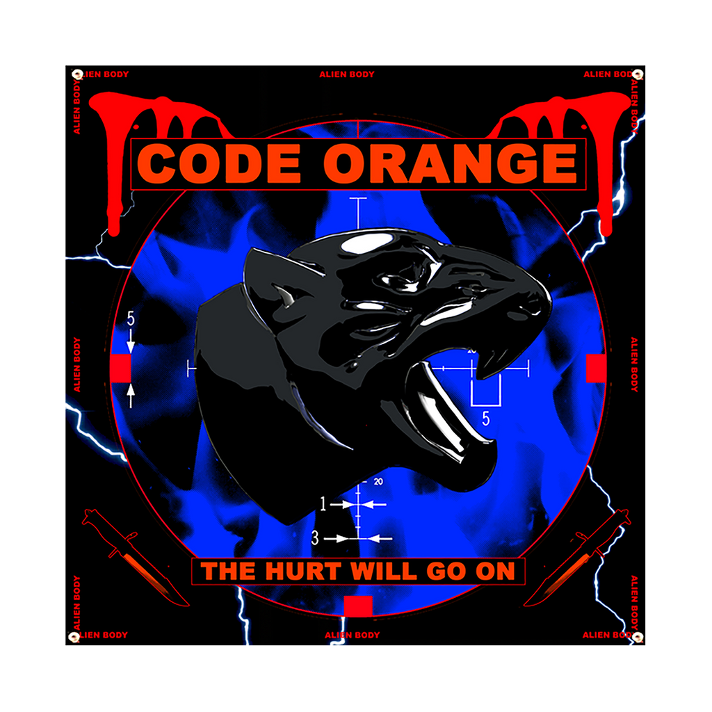 "Alien Body x Code Orange ""The Hurt Will Go On"" Flag"