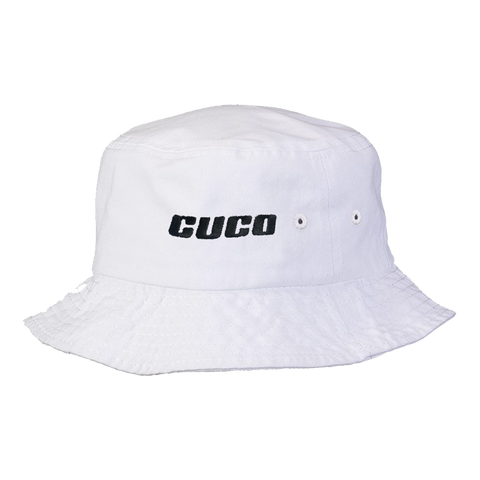 Cuco Bucket Hat - White