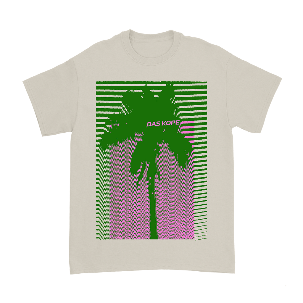 Electric Palm Tee Natural