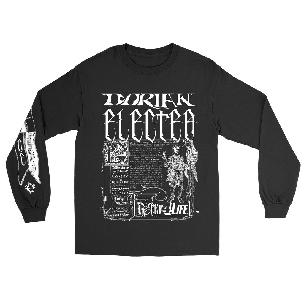 MEDIEVAL LONG SLEEVE (BLACK)
