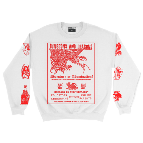Dungeons and Dragons Crewneck Sweater