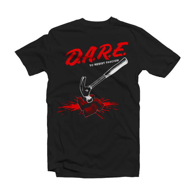 DARE TO RESIST FASCISM SHORT SLEEVE