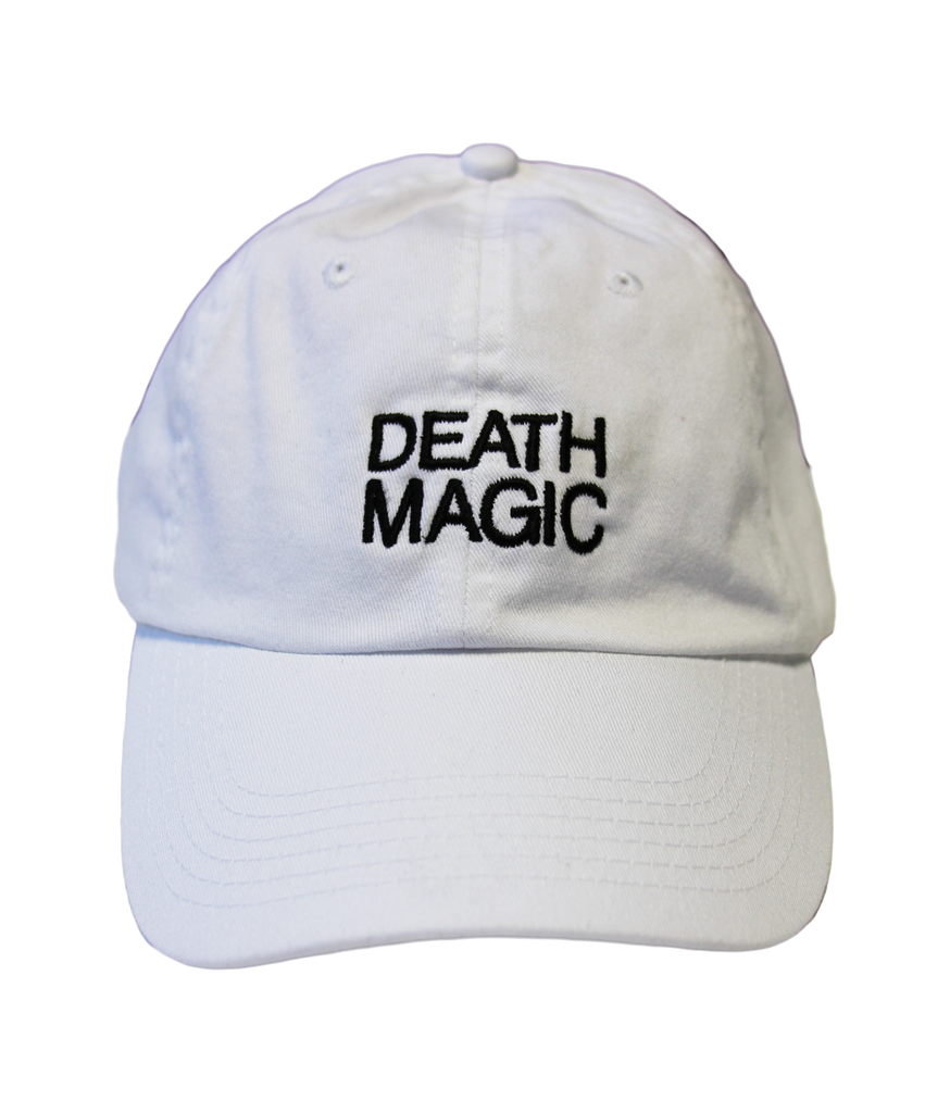 DEATH MAGIC DAD HAT (WHITE)