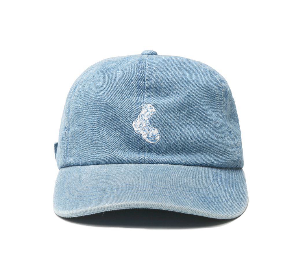 Denim Boot Cap