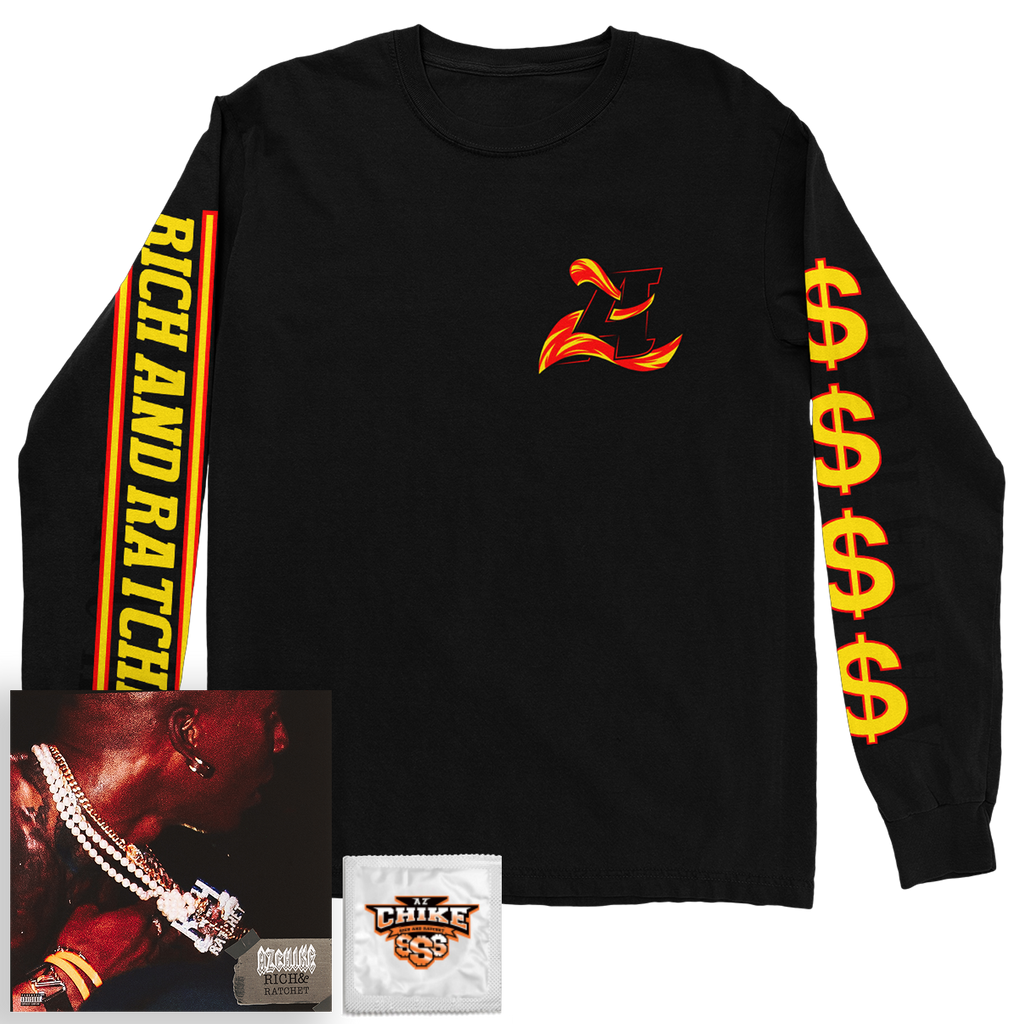Emblem Longsleeve + Digital Mixtape Bundle