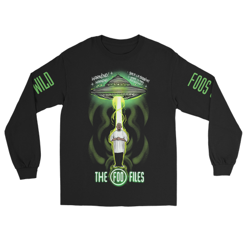 """FOO FILES"" LONGSLEEVE"