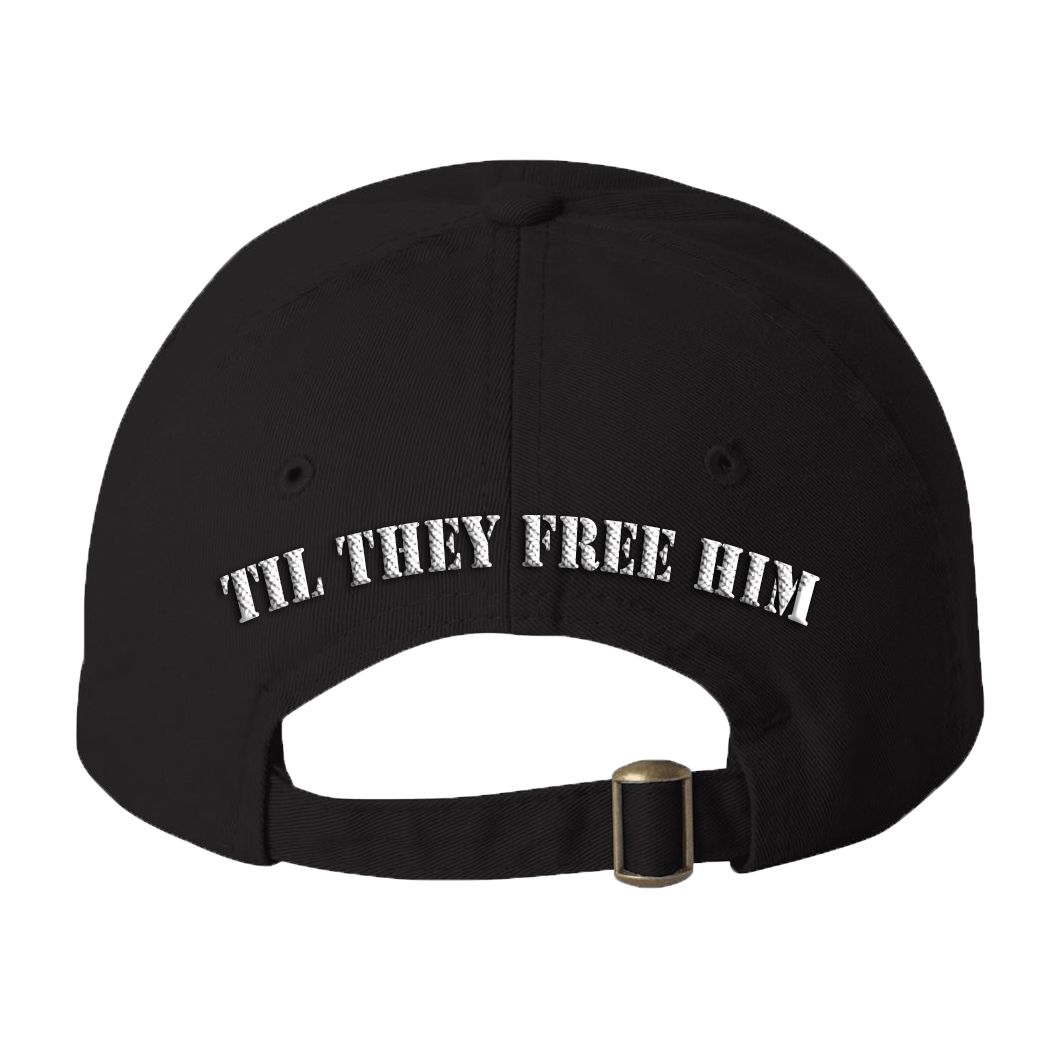 It-s Free Melly Til They Free Him - Dad Cap (Black)