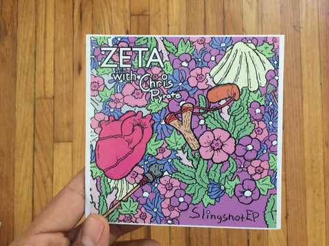 CD ZETA w CHRIS PYRATE SLINGSHOT EP