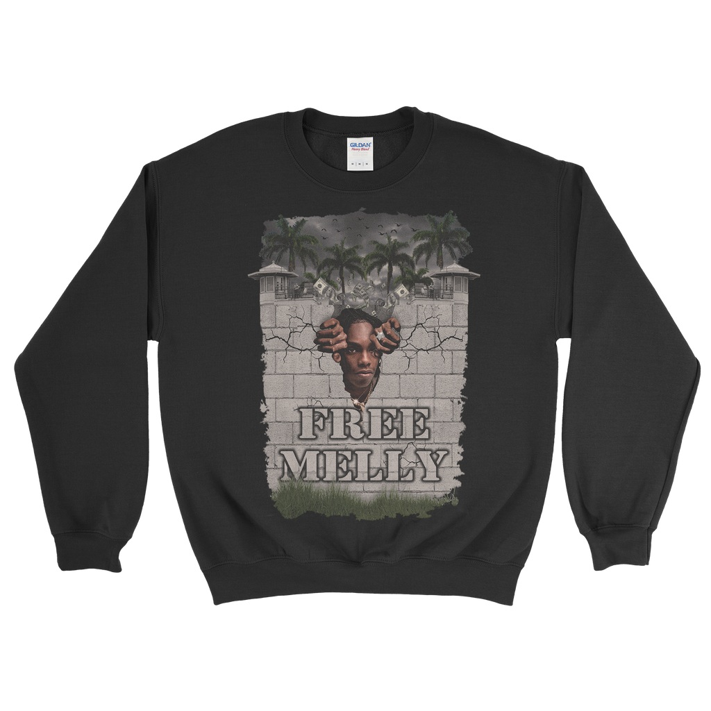 Free Melly Crewneck Sweater (Black)