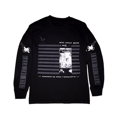 GOD MONEY L/S SHIRT