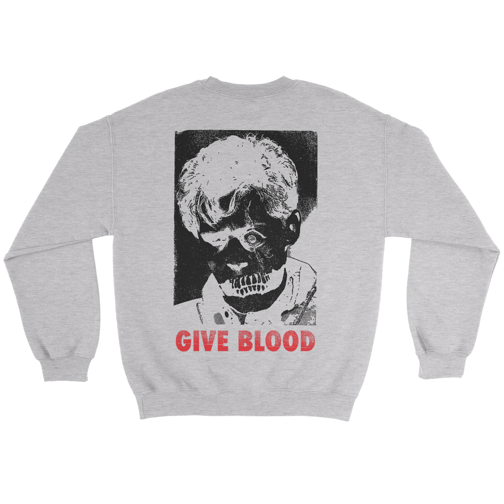 Give Blood Crewneck Sweater