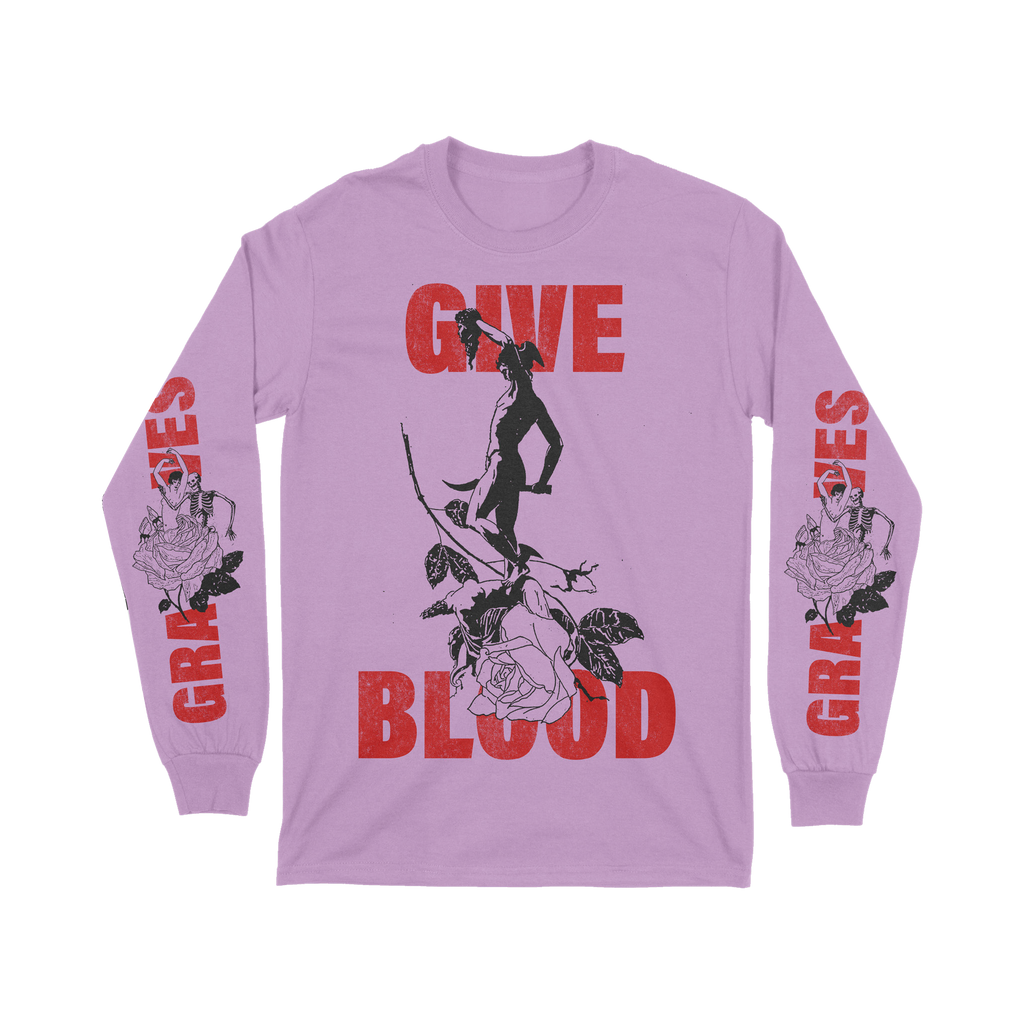 Give Blood Long Sleeve