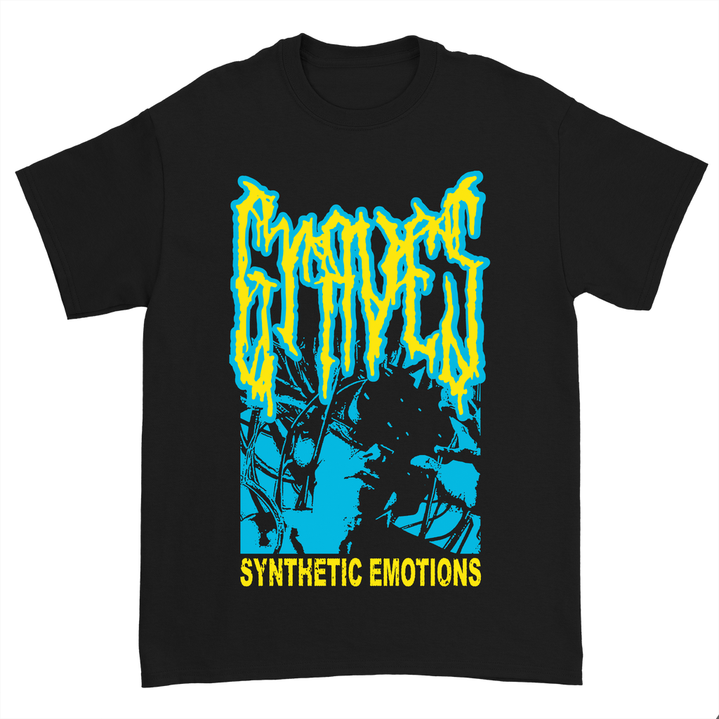 Synthetic Emotions Tee - Blue/Yellow