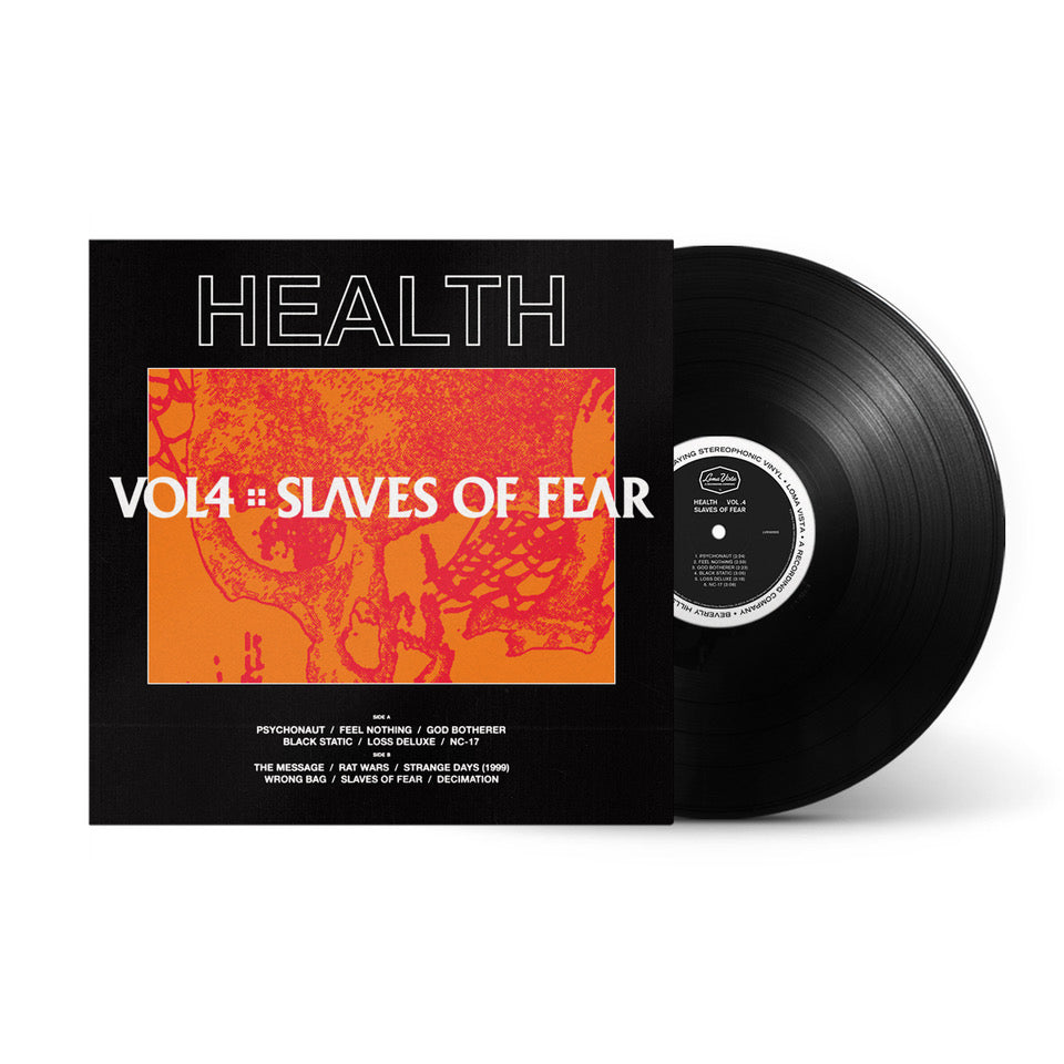 VOL. 4 :: SLAVES OF FEAR - BLACK LP