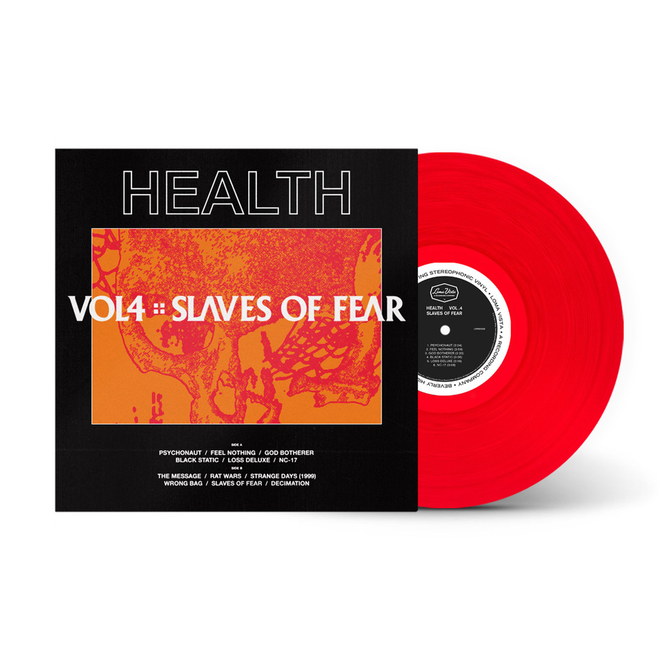 VOL. 4 :: SLAVES OF FEAR - LIMITED EDITION RED LP
