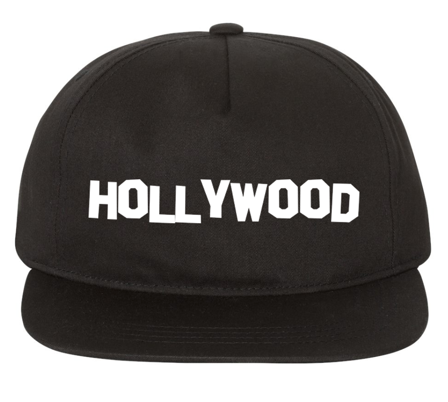HOLLYWOOD HAT (BLACK)