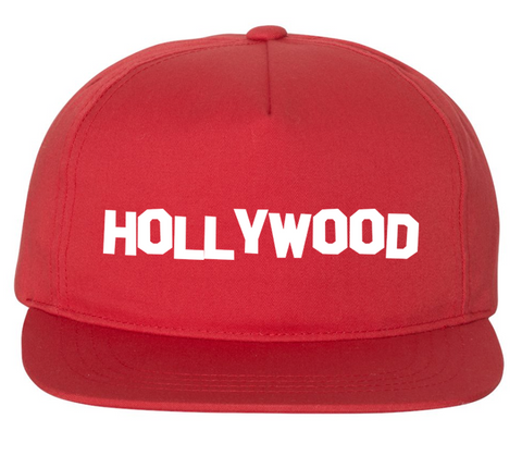 HOLLYWOOD HAT (RED)