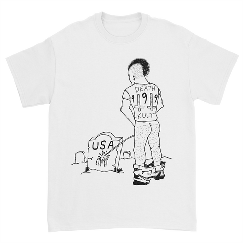 Piss on USA Grave Tee