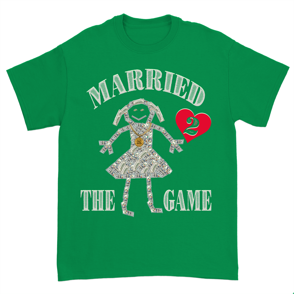Married 2 The Game Tee