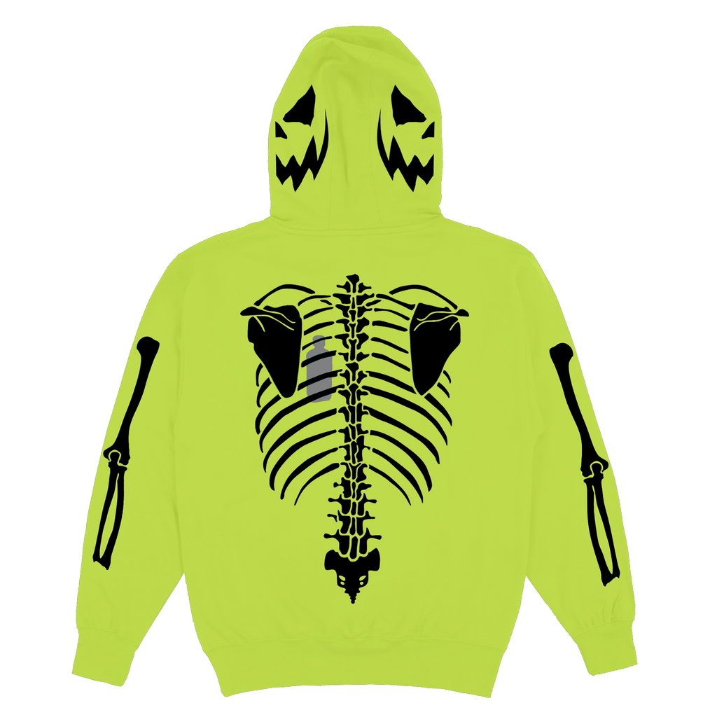 Skelton Heart Safety Green