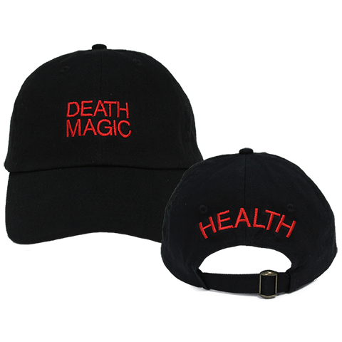 DEATH MAGIC DAD HAT (RED)