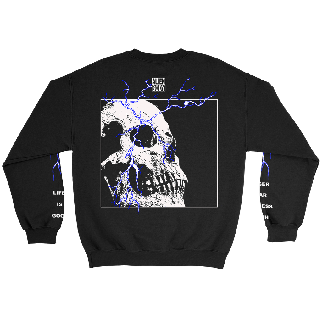 HEALTH x ALIEN BODY LIGHTNING SWEATSHIRT