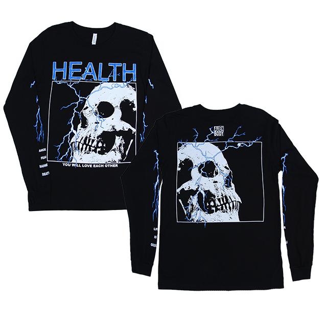 HEALTH x ALIEN BODY LIGHTNING LONG SLEEVE
