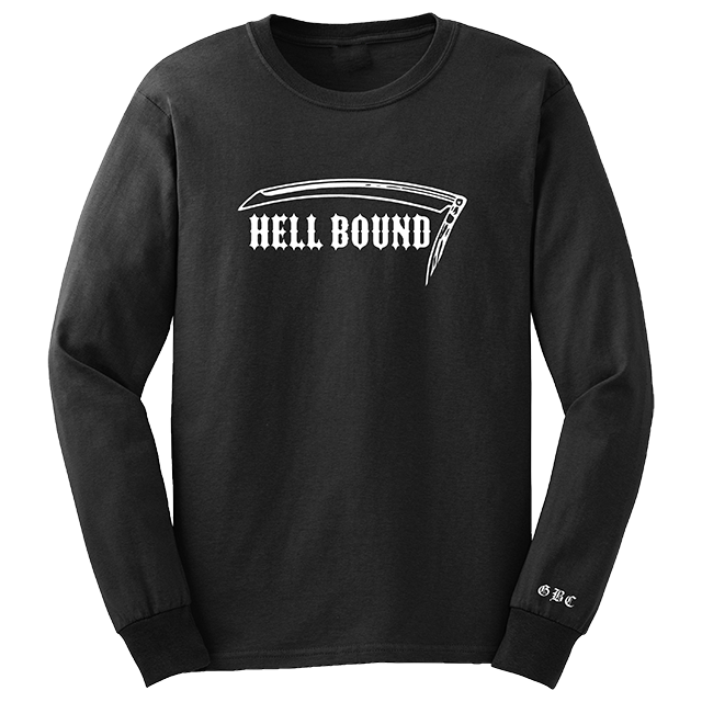 HELLBOUND EMBROIDERED LONG SLEEVE *PRE-ORDER*