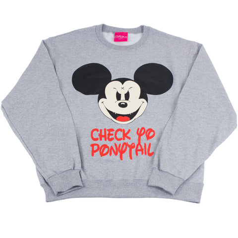 CYP MISHKA COLLABORATION MICKEY CREWNECK