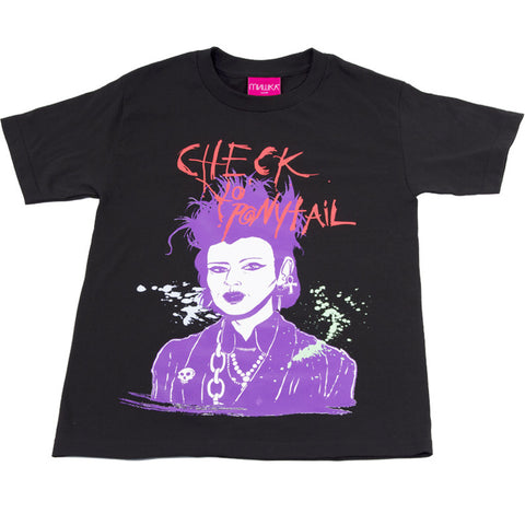 CYP MISHKA COLLABORATION BLACK T-SHIRT