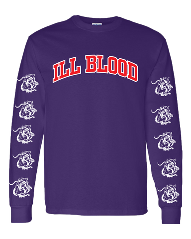 Raptor Purple Ill Blood Long-Sleeve