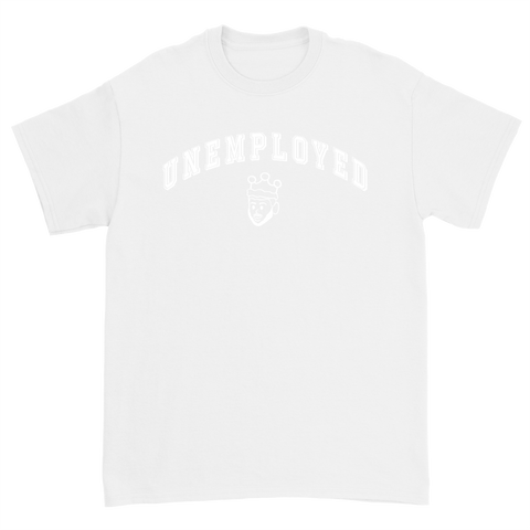 UNEMPLOYED T-SHIRT - WHITE