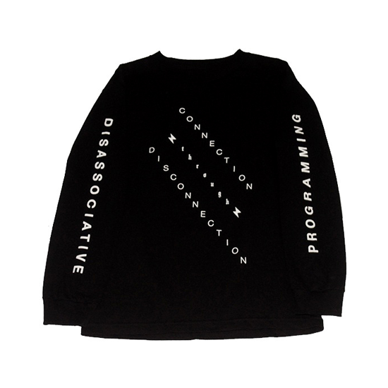 CONNECTION THROUGH DISCONNECTION L/S SHIRT