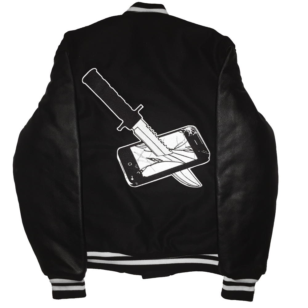 KILL YOUR GOD VARSITY JACKET