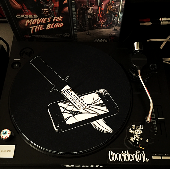 KILL YOUR GOD SLIPMAT (SINGLE)