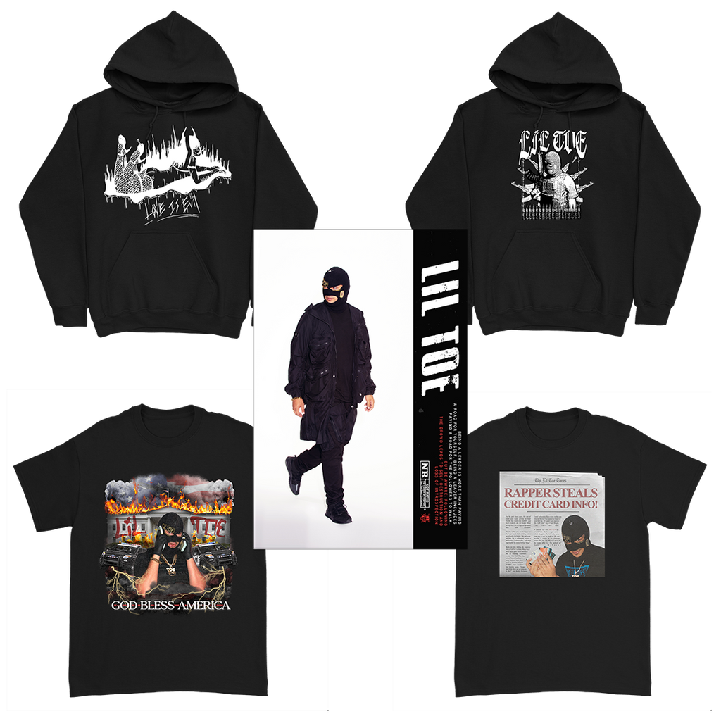 Deluxe Bundle - 2 Tees + 2 Hoodies + Techwear Poster