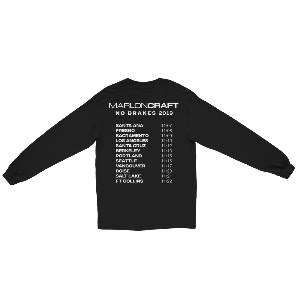 No Brakes 2019 Tour Long Sleeve
