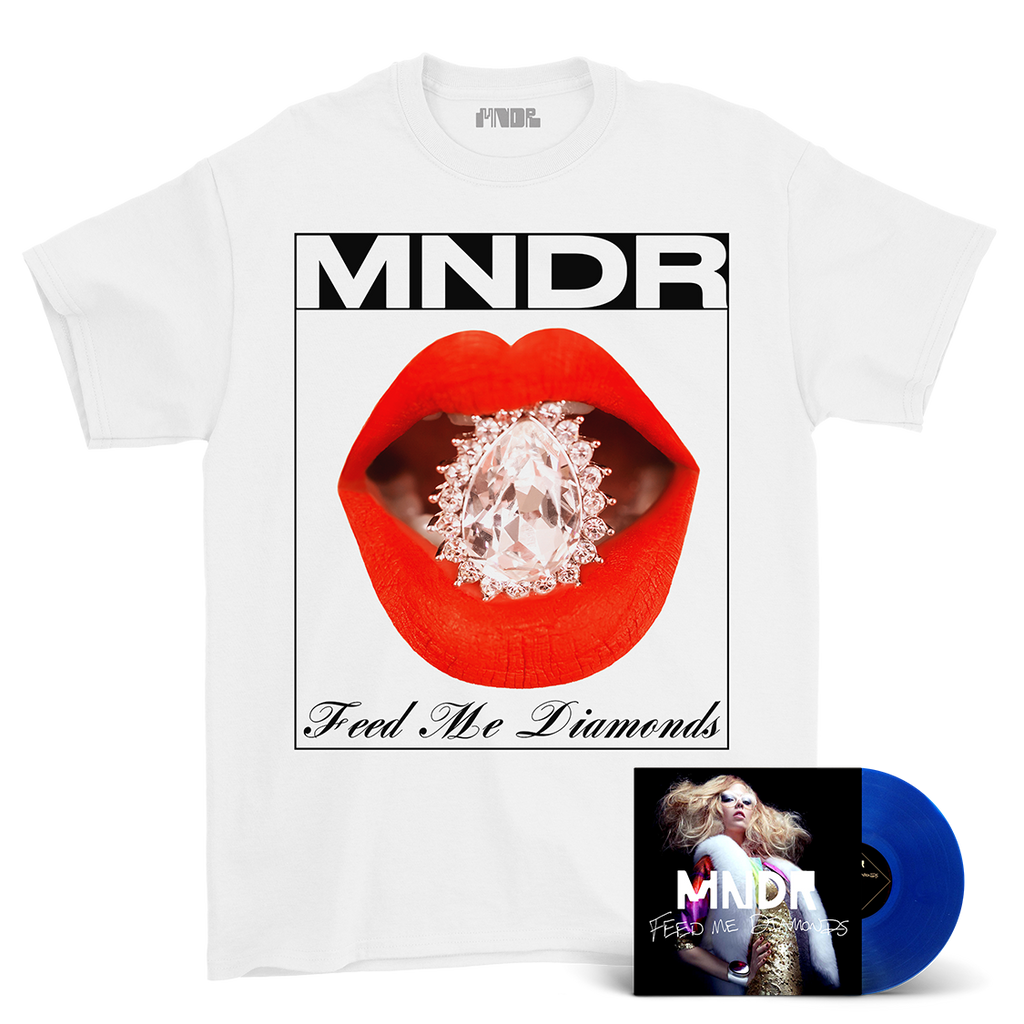 FEED ME DIAMONDS VINYL + TEE BUNDLE