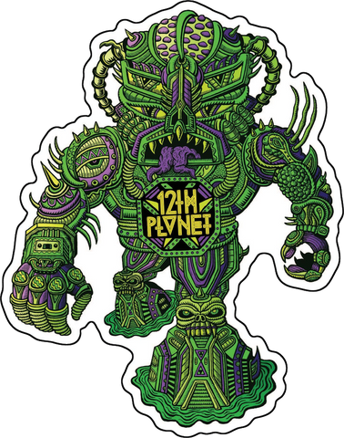 Monster Die-Cut Sticker