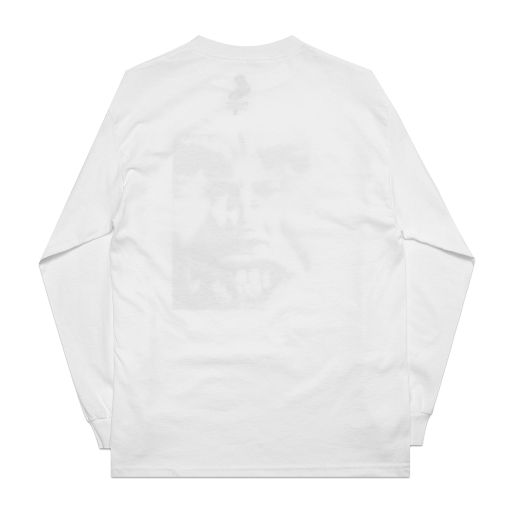 White 'Anxiety' LS