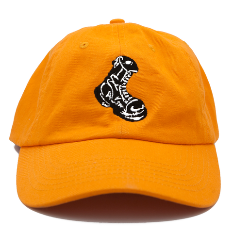Orange Boot Cap