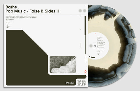 Baths - Pop Music / False B-Sides II (Exclusive Black & Cream 2-color vinyl edition)