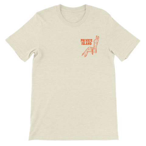 Distracted Tee - Orange Print