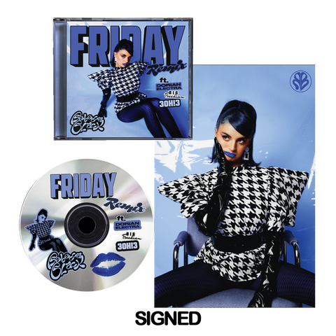 Friday Remix CD (SIGNED)
