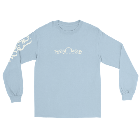 SPORTS ANGEL EMBROIDERED L/S (BABY BLUE)