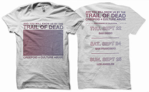 Trail of Dead Ltd Edition Tour Shirt